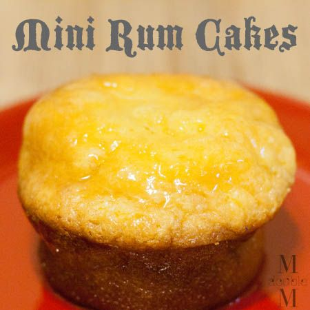 Cake Design Vanilla Rum Cake Recipe : Best 96 Cake ~ Mini Bundt cakes images on Pinterest Other