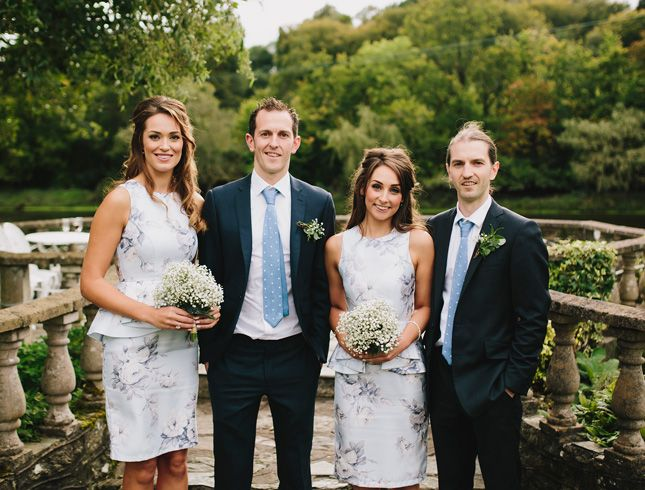 Rebecca and Craig's fun, relaxed wedding at Innishannon House Hotel, Cork | Confetti.ie