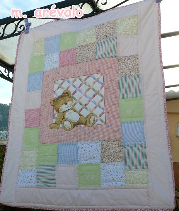 2437 best images about baby kids quilts on pinterest kid - Colchas cuna patchwork ...