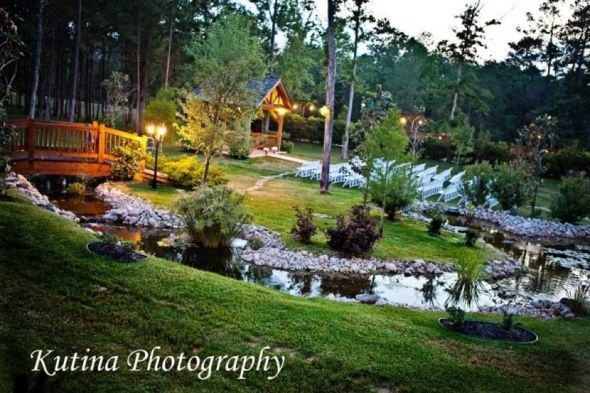 Houston,TX outdoor venue suggestions :  wedding budget houston inexpensive texas venues Amber Springs