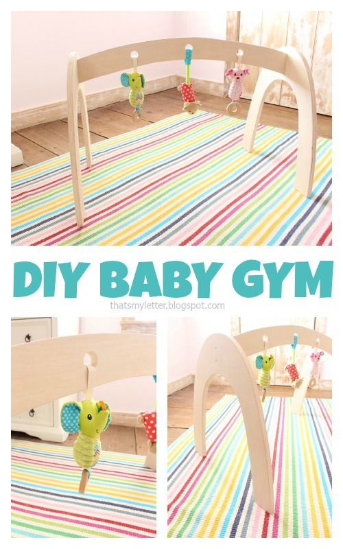 "That's My Letter: ""B"" is for Baby Gym"