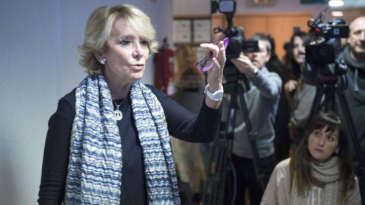 Esperanza Aguirre pasa a la ofensiva: A mí por corrupción no me van a imputar. – Adribosch's Blog