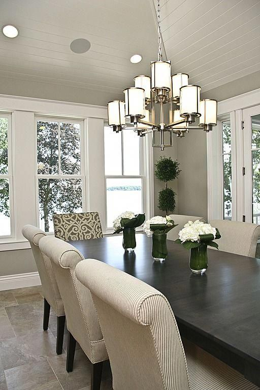 Traditional Dining Room Found On Zillow Digs Falcon Custom Homes