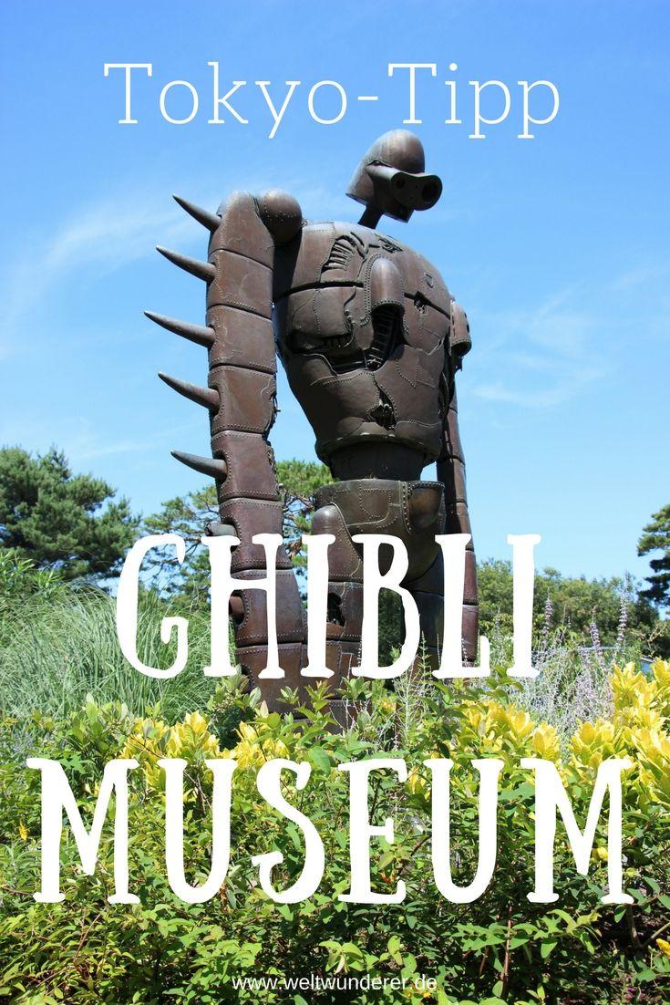 Das Ghibli Museum in Tokio Mitaka ist Pflicht für alle Fans von Totoro und japanischem Anime - und macht auch Familien Spaß! #Japan #Ghibli #Totoro #Tokio