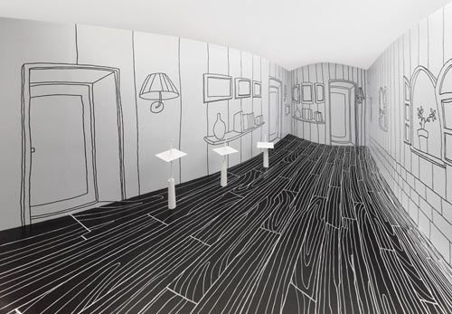 MIND-BENDING NENDO EXHIBITION IN TAIWAN - Wouldn't that be a cool kids room with dry eraser painted walls...
