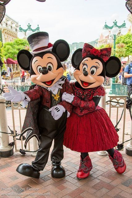 Mickey and Minnie Mouse by corina