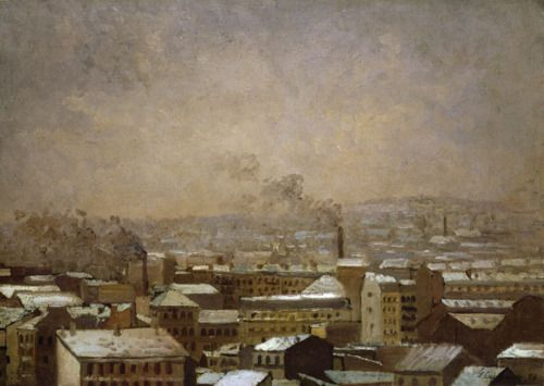 Gustave Caillebotte, Paris in the Snow, 1886