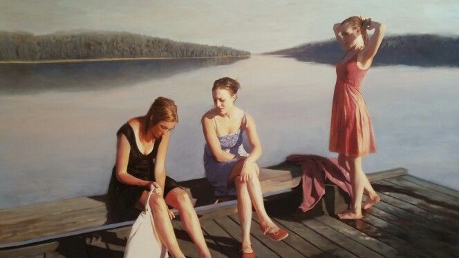 Swedish artist Karin Broos, Love her painting!