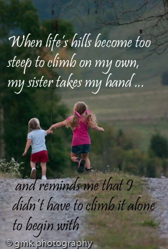 25+ Best Inspirational Sister Quotes On Pinterest