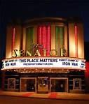 The Senator movie theater Baltimore, Md, opened in 1909