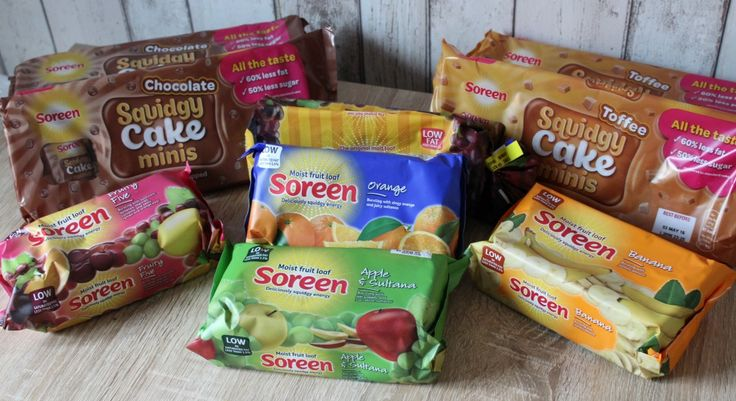New Soreen Squidgy Cake Minis - A Review