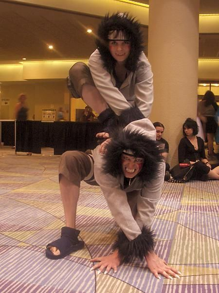 Naruto - Kiba and Akamaru  I'm in love, but I'm not sure which one is the real Kiba! XD