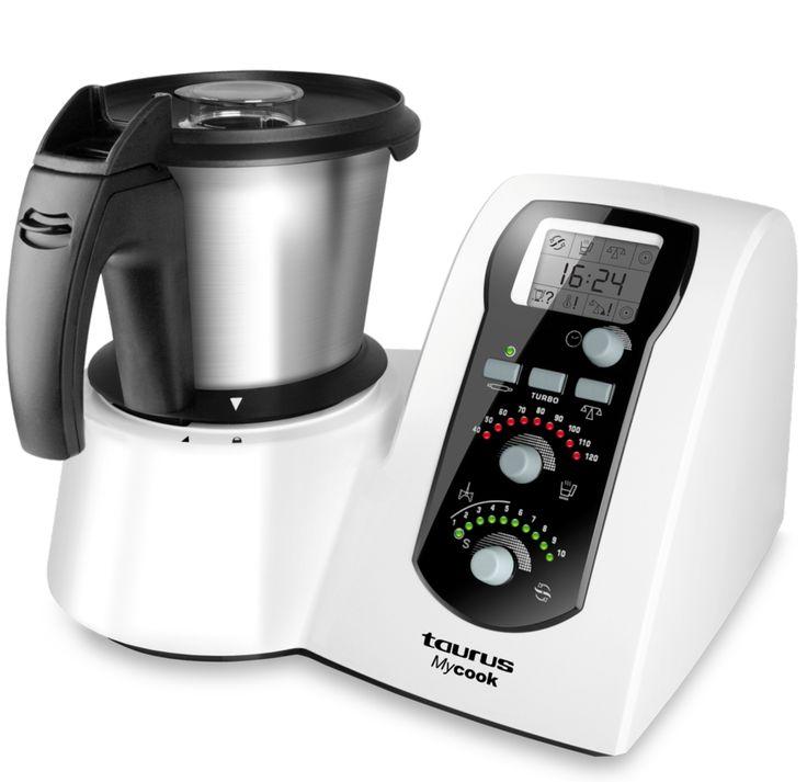 Taurus MYCOOK Top Chef Potencia 1600W, Múltiples accesorios