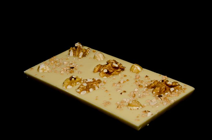 Sweet as a nut, white chocolate covered in whole  hazelnuts caramelised hazelnut pieces and wallnuts.  http://www.marketdirect.ie/buy-handmade-chocolate-gifts-online/mixed-nuts-chocolate
