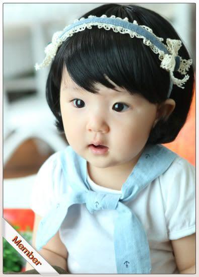 KOREAN BABY ULZZANG MODELBaby Ulzzang, Nails Fashion