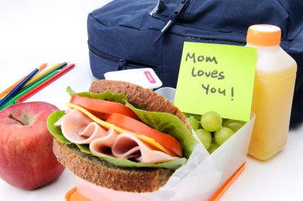 Lunch Box Express: Quick and healthy lunch box recipes complete with an ingredient list!