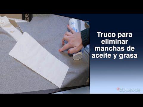 Trucos para sacar manchas de grasa en la ropa | Ahorradoras.com