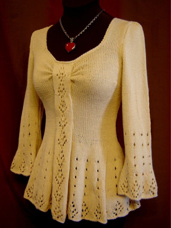 Evangeline Tunic Knitting Pattern