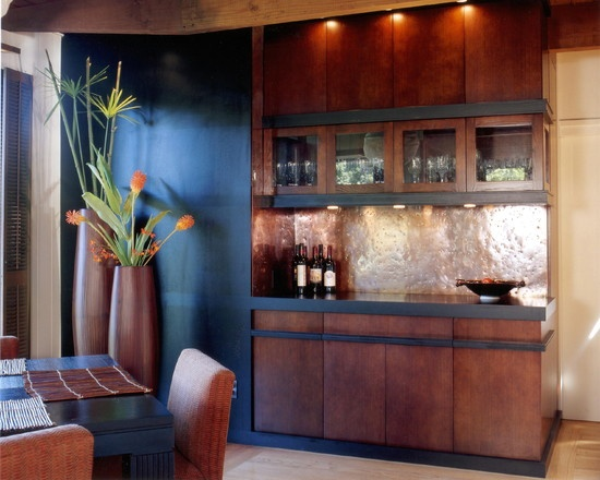 looks like an office, but the idea is nice  Modern Built In Buffet Design, Pictures, Remodel, Decor and Ideas - page 2