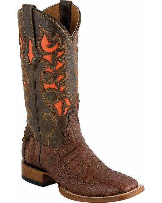 Lucchese Women's Cigar Hornback Caiman Cowgirl Boot  http://www.countryoutfitter.com/products/31114-womens-cigar-hornback-caiman-boot