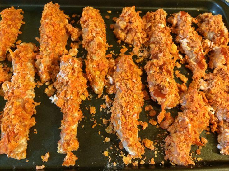 How to Make Spicy Doritos Chicken