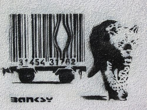real banksy - street art london | Flickr - Photo Sharing!