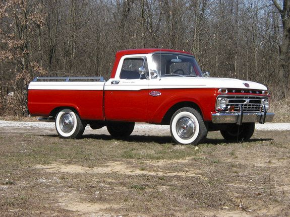 1965 Ford F150 Regular Cab but in two tone mint