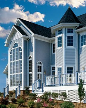 1000 Ideas About Blue Vinyl Siding On Pinterest Vinyl Siding Roofing Shingles And Family
