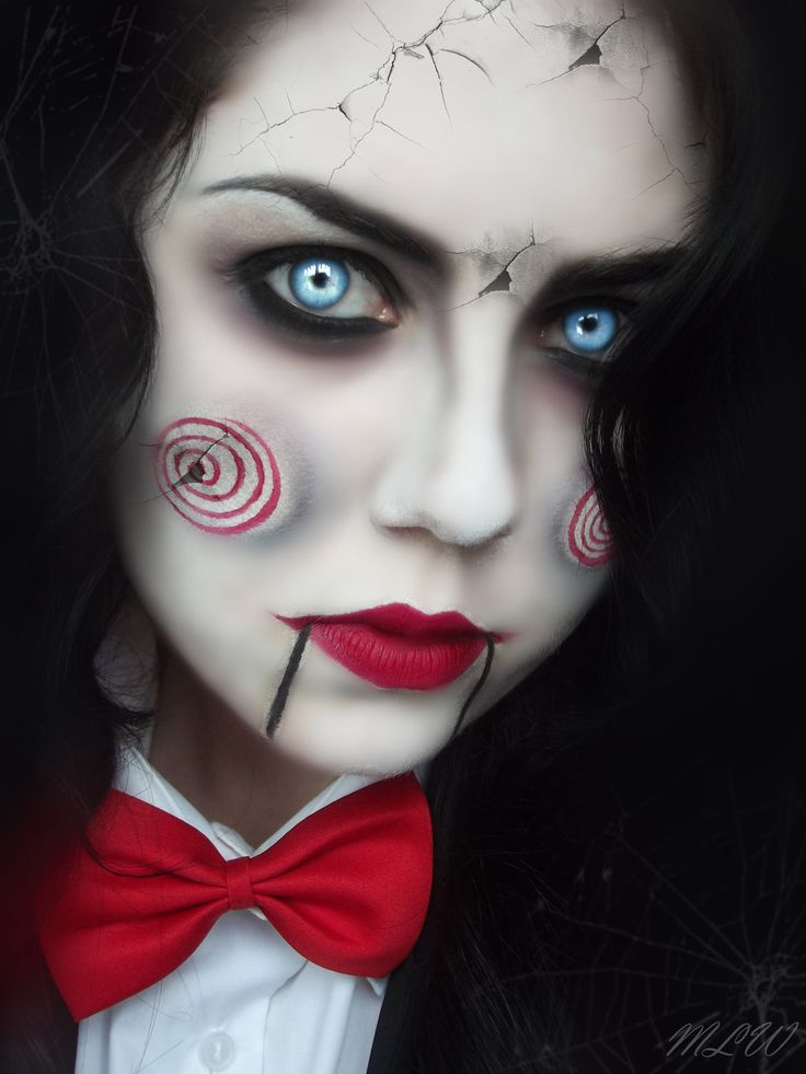 Saw Jigsaw Makeup Tutorial - Mugeek Vidalondon