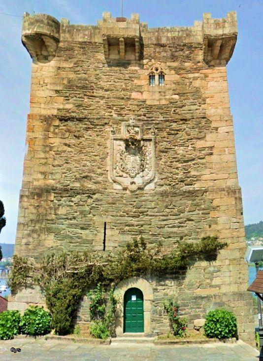 Torre de los Andrade, Pontedeume, La Coruña, España