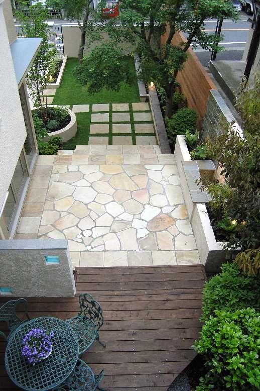 17 migliori idee su giardini moderni su pinterest for Piani di idee di progettazione seminterrato