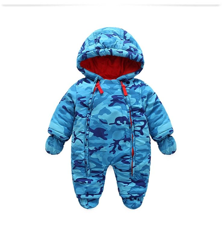 (27.89$)  Watch more here  - 2017 new fashion Camo clothing for kids  snow wear , autumn - Winter costume baby boys overalls for infants snow wear for boy