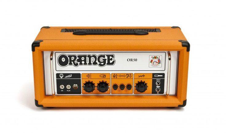 Orange Amplifiers OR50 Tube Guitar Amp Head Orange 50 Watts