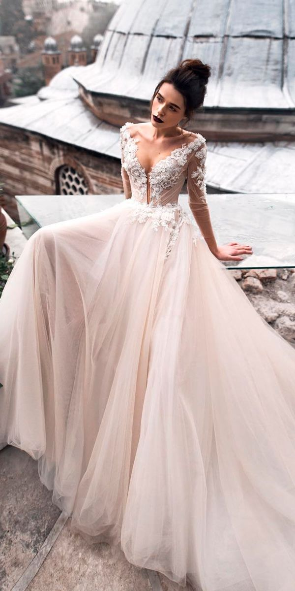 Long Sleeves Wedding Gowns 2019