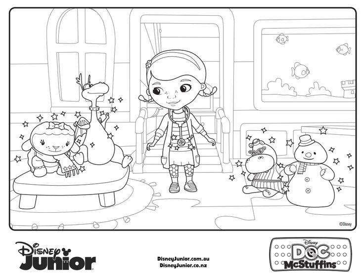 Doc Mcstuffins El Doctor Dr Toys Opportunity Diy Cartoon The Girl