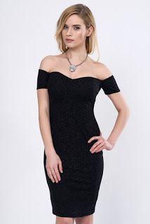 Modainturkey: Siyah sade bir abiye elbise satın almak istiyorsan...