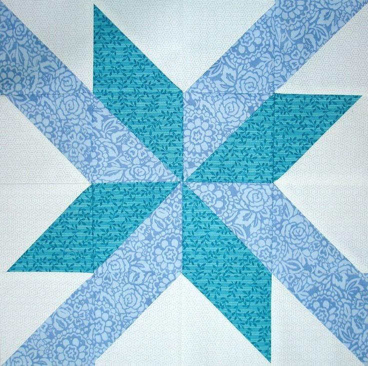25+ best ideas about Star quilt blocks on Pinterest Quilt blocks, Quilt blocks easy and Quilt ...