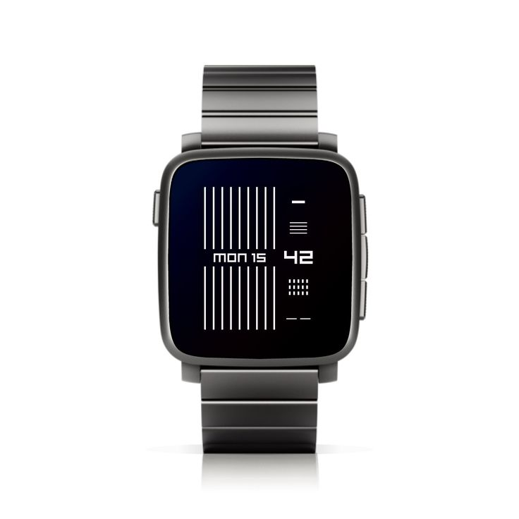 TTMMSTRINGS for Pebble Time. #PebbleTime www.time.ttmm.eu