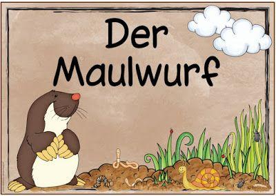 """Ideenreise: Themenplakat """"Der Maulwurf"""""""