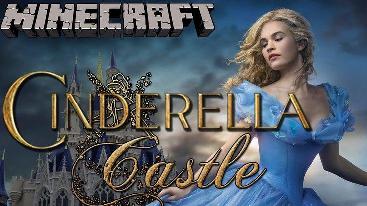 Cinderella Castle - Minecraft Let's Build (Full Disney Castle Build)