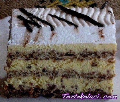 Milka torta (in croatian)