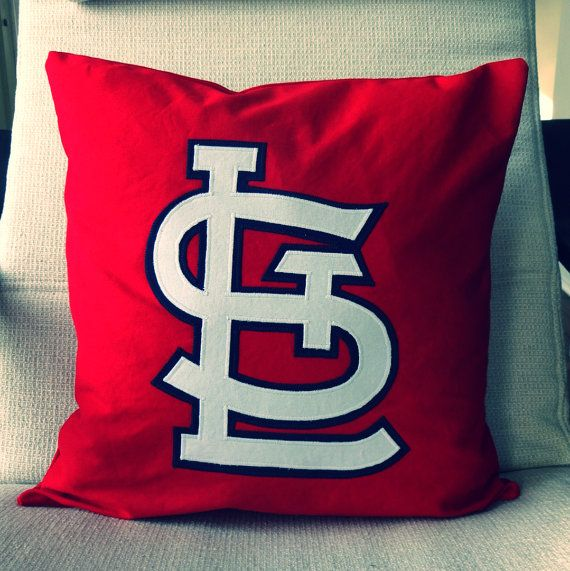 Hey, I found this really awesome Etsy listing at https://www.etsy.com/listing/224864619/st-louis-cardinals-pillow-pillow-cover