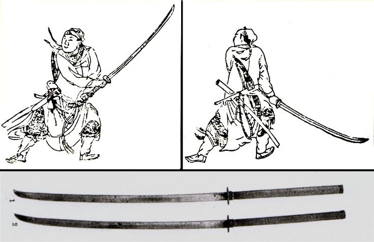 fyeahswords: The zhanmadao (Chinese: 斬馬刀; pinyin: zhǎn mǎ