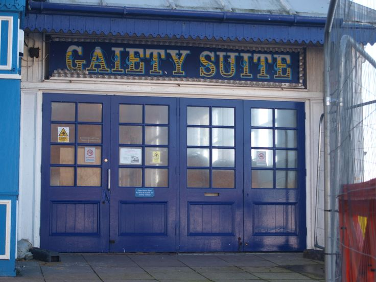 Gaiety Suite on South Parade Pier, Portsmouth.