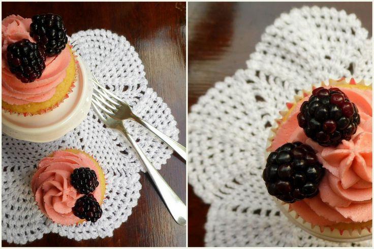 Blackberry Cupcakes by BabyCakes Bakery:: www.babycakesbakery.co.za
