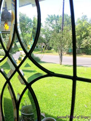 Second Wind of Texas: How to Economically Replace Leaded Glass in Door