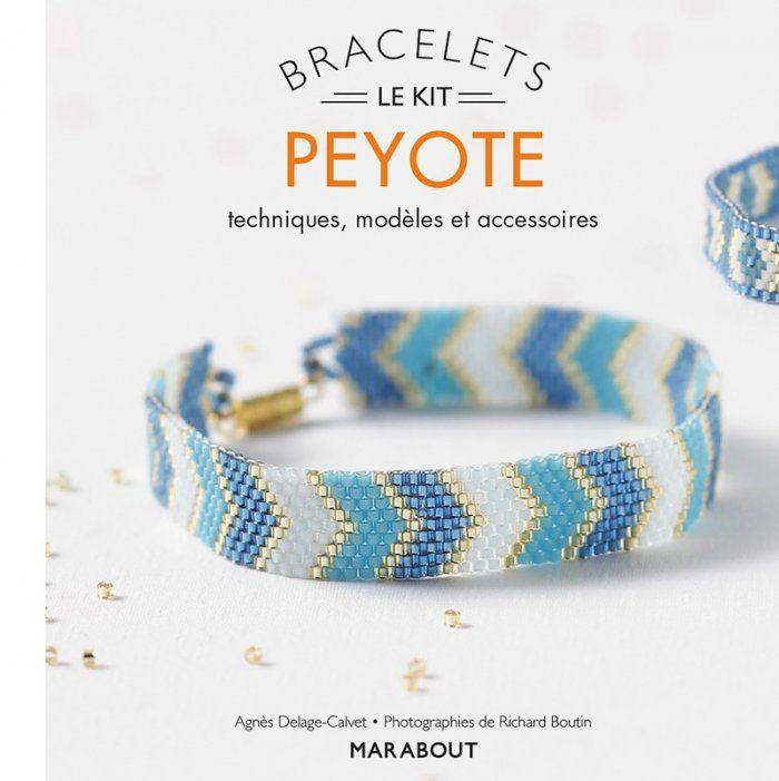 Kit de bracelets peyote chez Marabout - Marie Claire Idées
