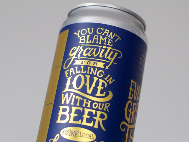 Theory Brewing Co. Crowler Design on Packaging of the World - Creative Package Design Gallery