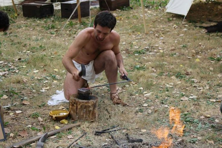 me while trying to forge something in an accurate historical way (celtic 3rd century b.C.)