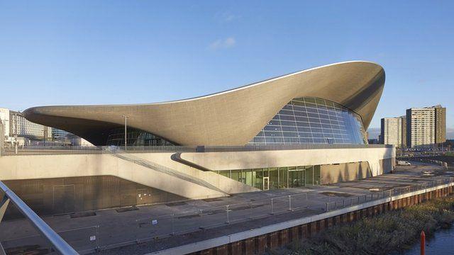 Billedresultat for Aquatics Centre London